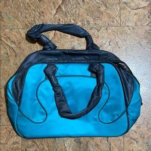 Lululemon gym bag.